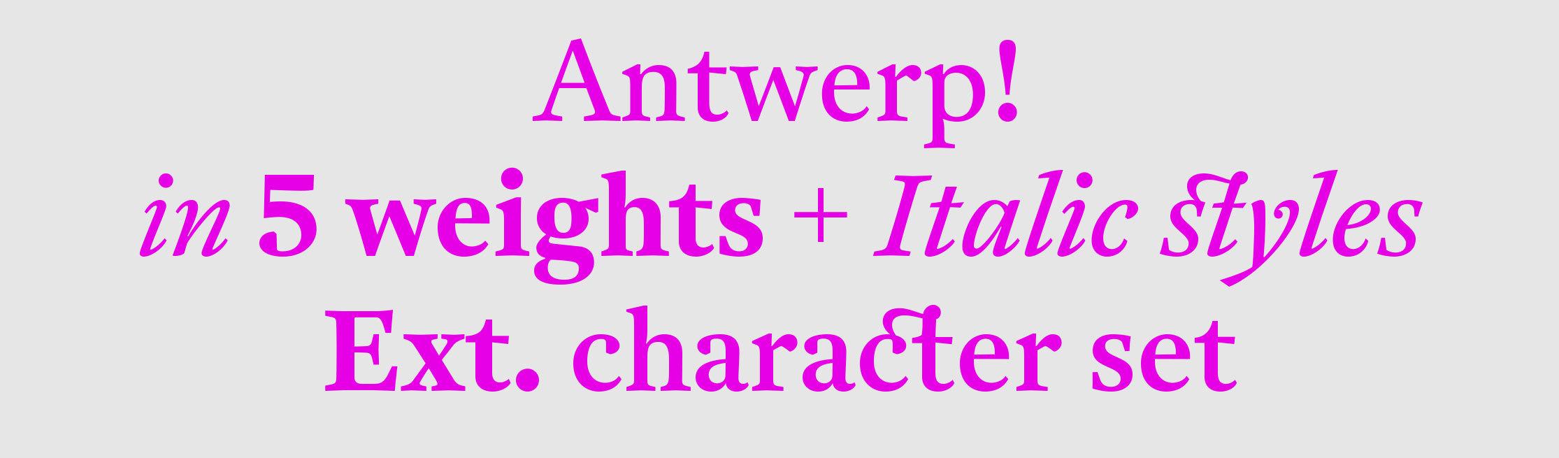 Antwerp sample