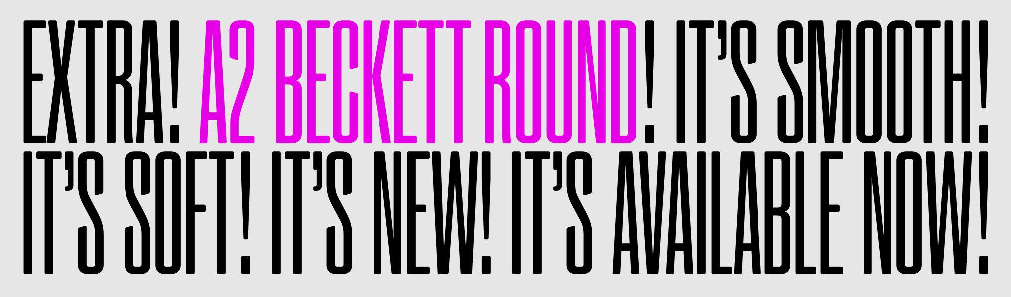 Beckett Round sample