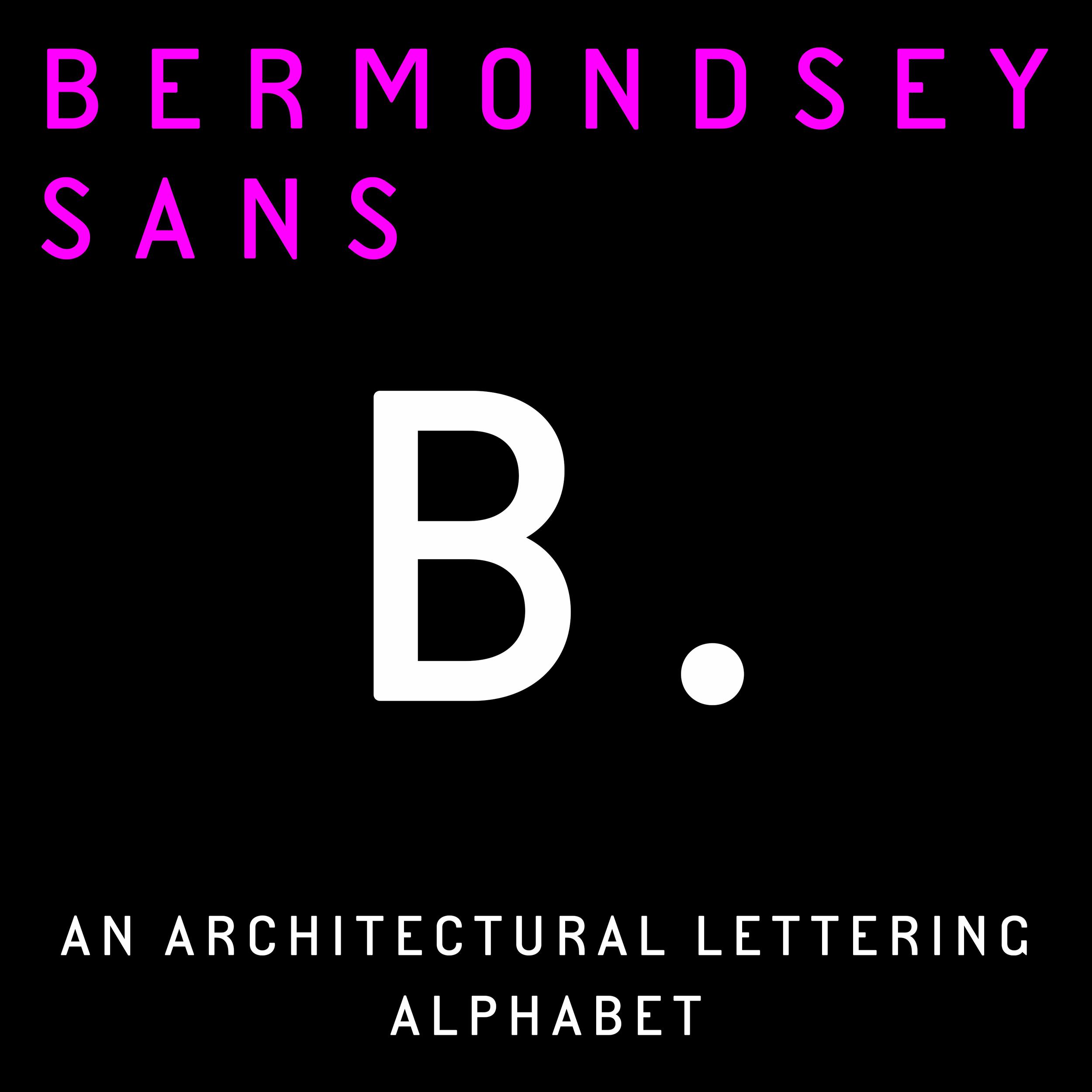 Bermondsey Sans sample