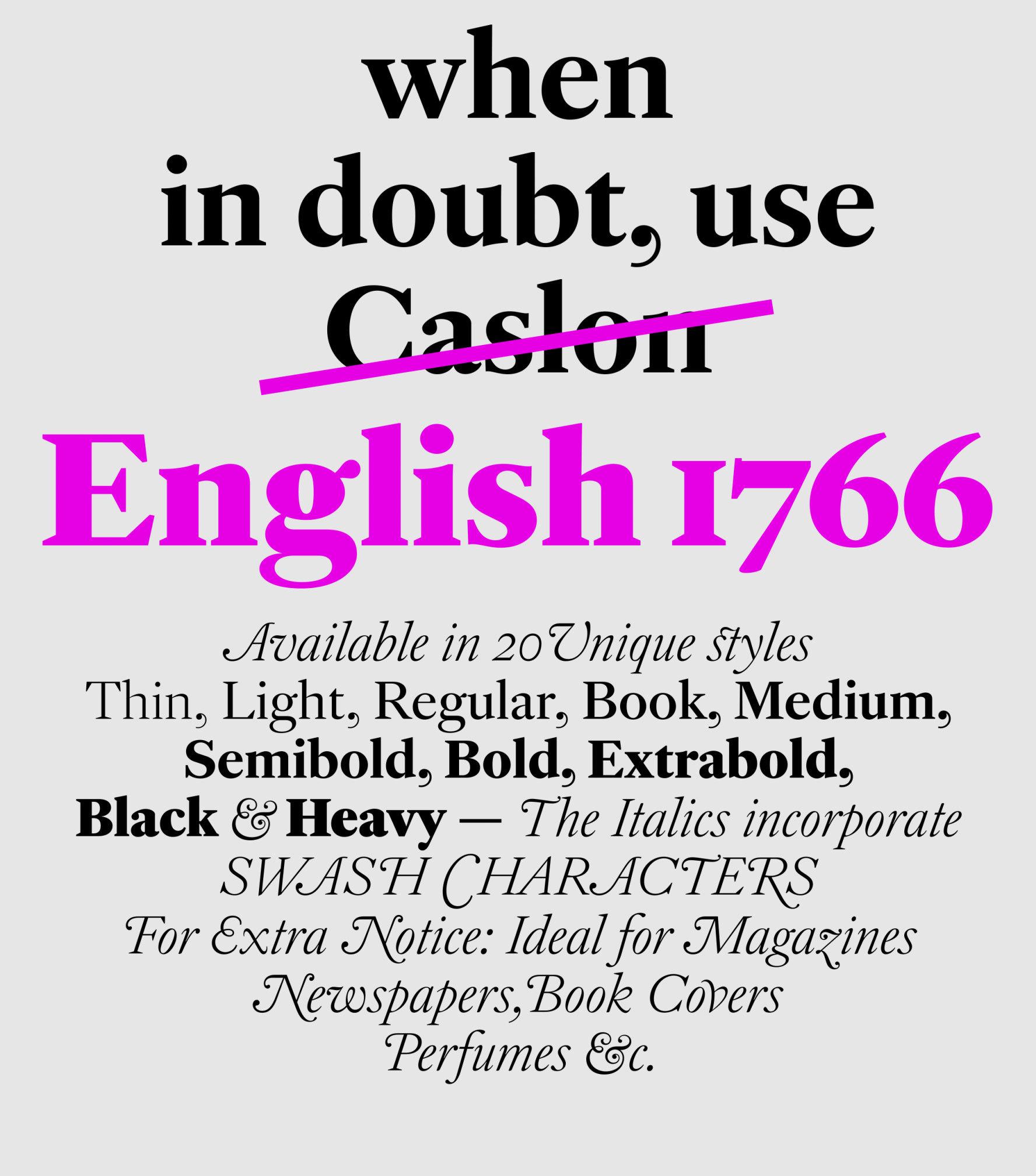 English 1766 sample