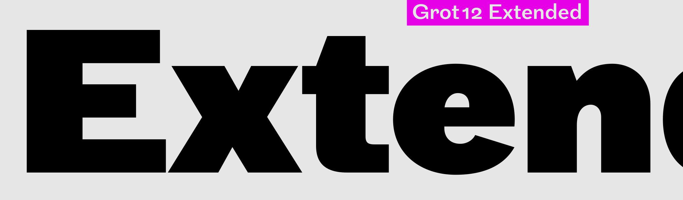 Grot12 Extended sample
