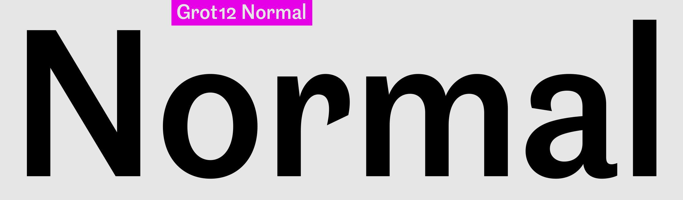 Grot12 Normal sample