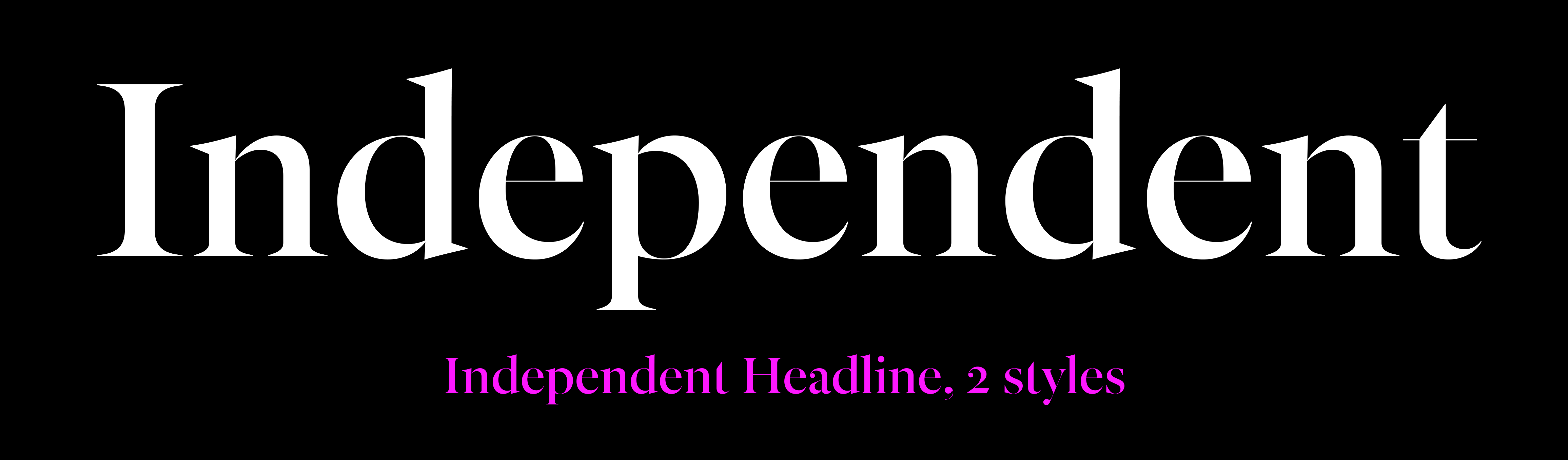 Independent Headline sample
