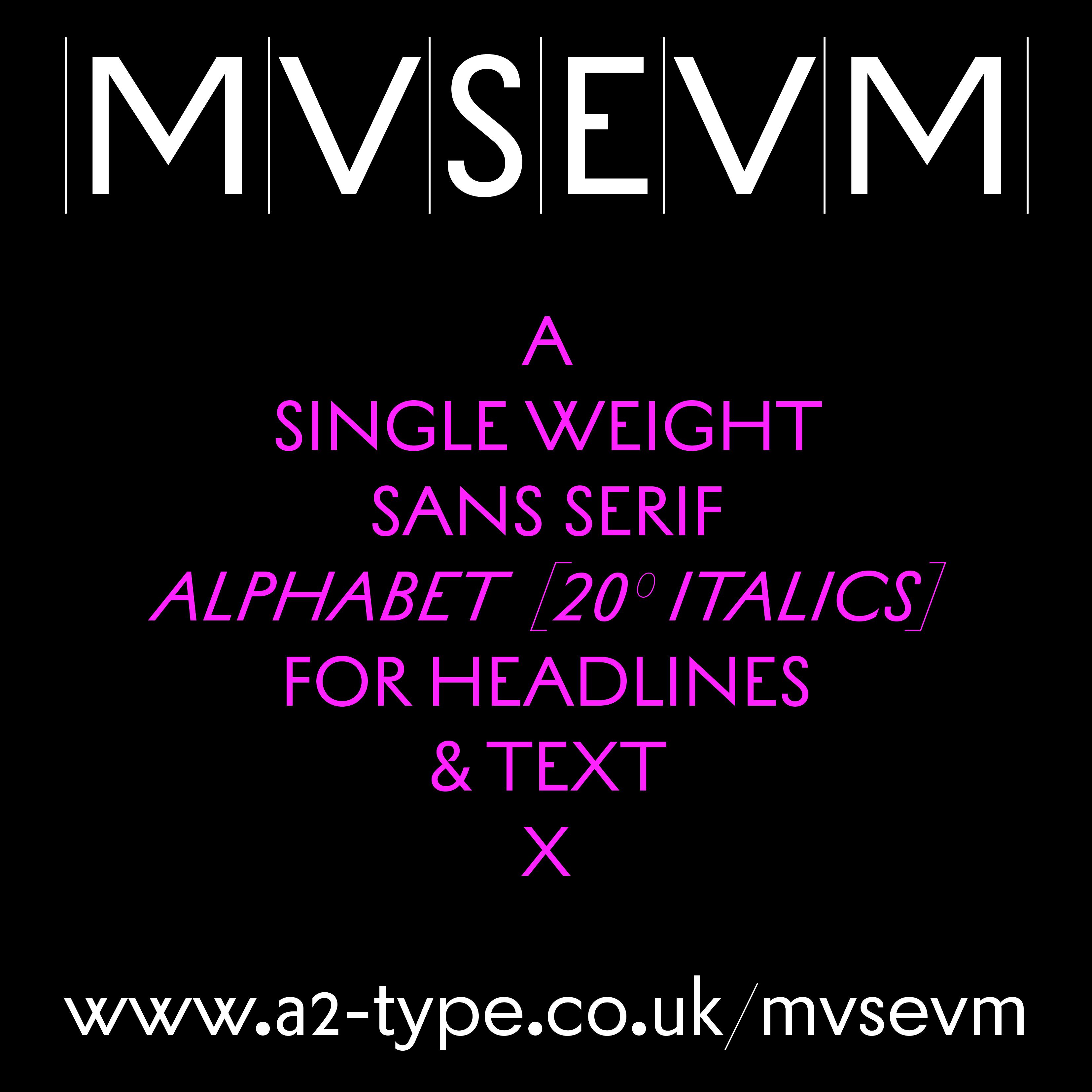 MVSEVM sample