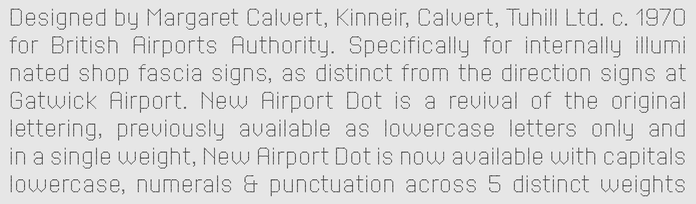 New Airport Dot sample
