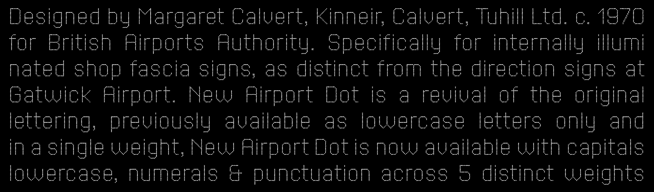 New Airport Dot sample