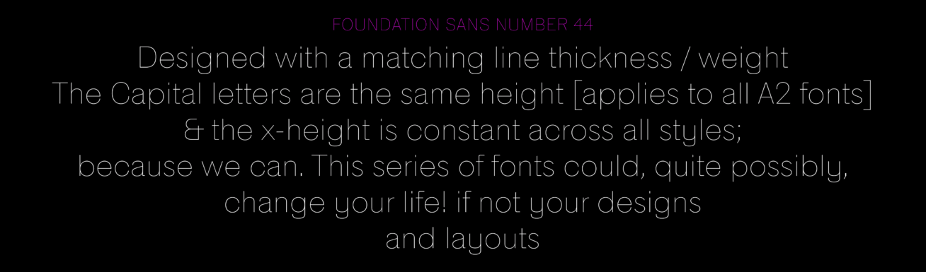 Foundation | A2-TYPE
