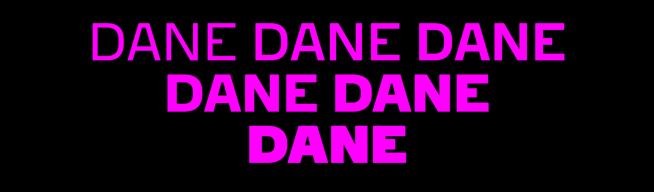Dane sample