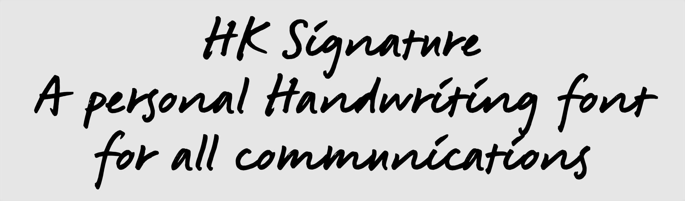 Signature sample
