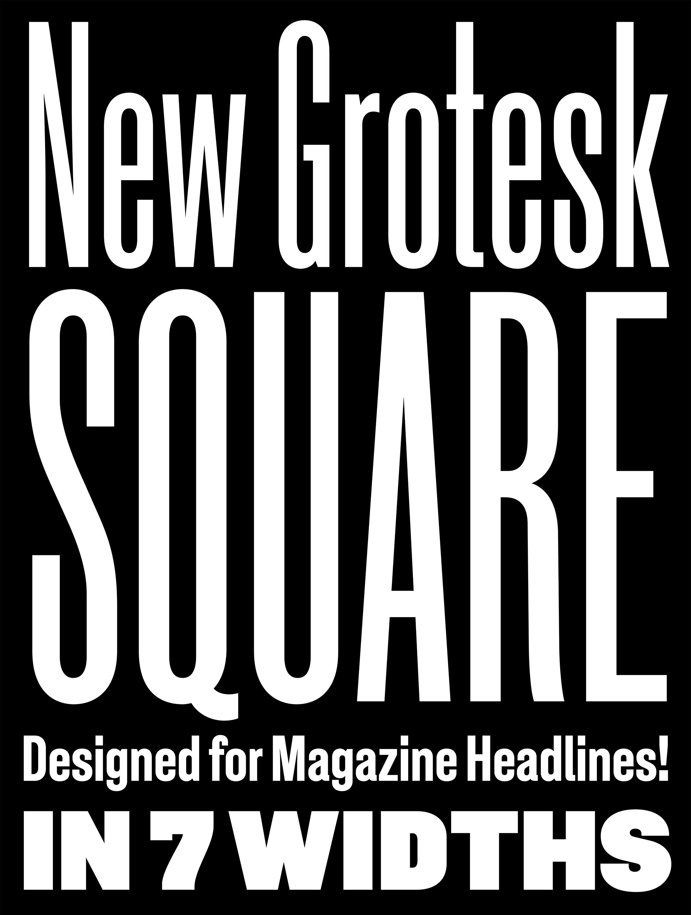 New Grotesk Square sample