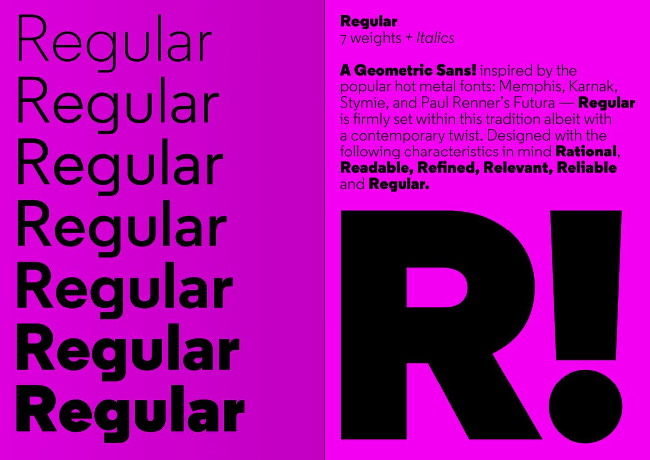 Regular   A2-TYPE